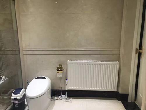 家用无管道水电暖气片应该如何安装呢?